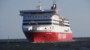 メルボルンに入港する、タスマニアスピリツ